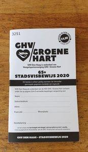 Stadsvisbewijs Den Haag 65+